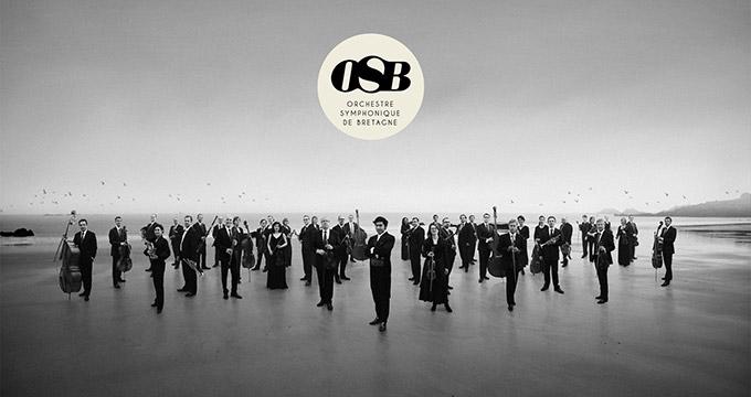 Affiche de l'Orchestre Symphonique de Bretagne